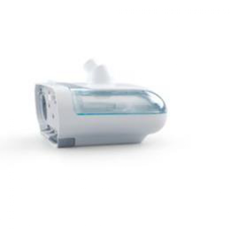 Photo of the DreamStation Humidifier DOM on a white background.