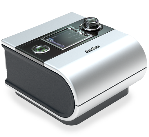 Photo of the ResMed S9 AutoSet CPAP System